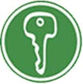 key real estate icon color green
